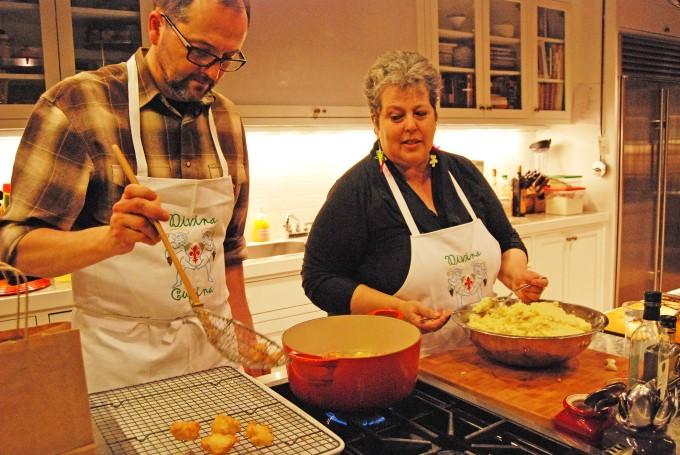 Frittelle di Riso - Italian Rice Fritters