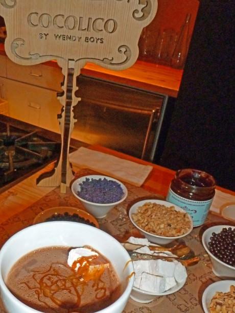 Hot Chocolate Fixings