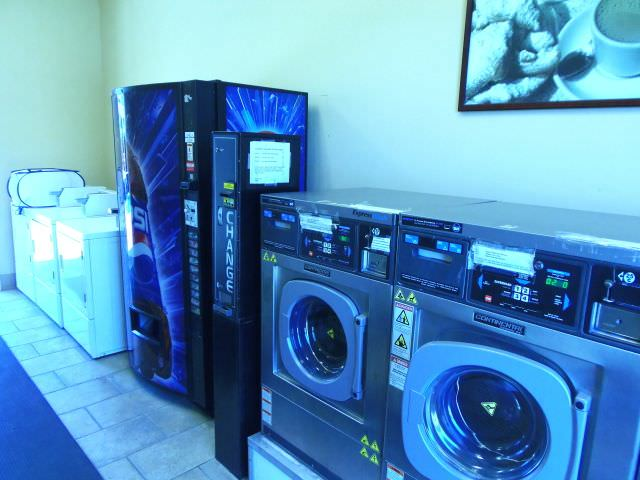 Laundry Room at French Quarter RV Resort in New Orleans