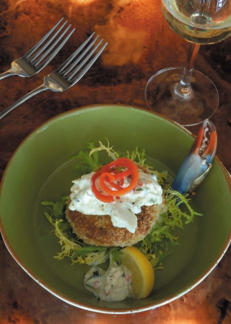 Ralph's on the Park Crab Cakes