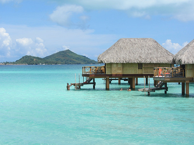 Bora Bora Over-Water Bungalow