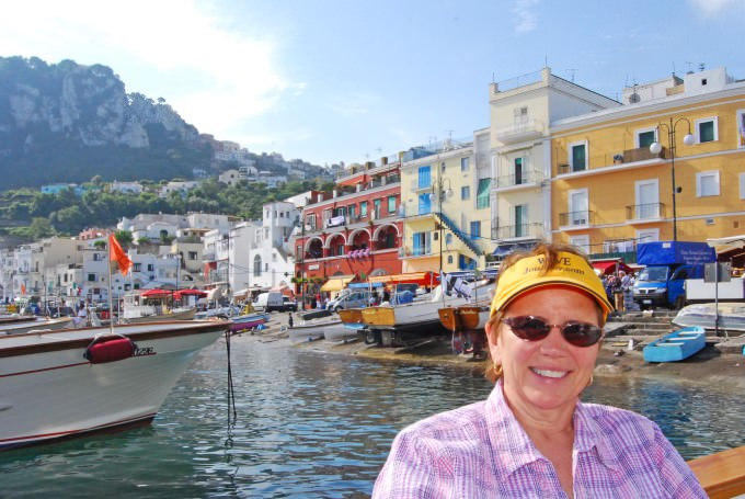 WJ Visits the Isle of Capri in Italy
