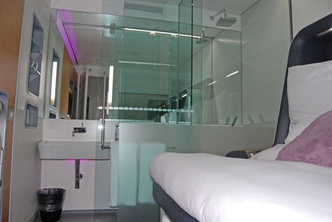 Yotel Premium Cabin