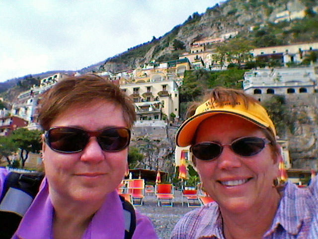 Viv and Jill Stay Connected in Positano with XCom Global MiFi