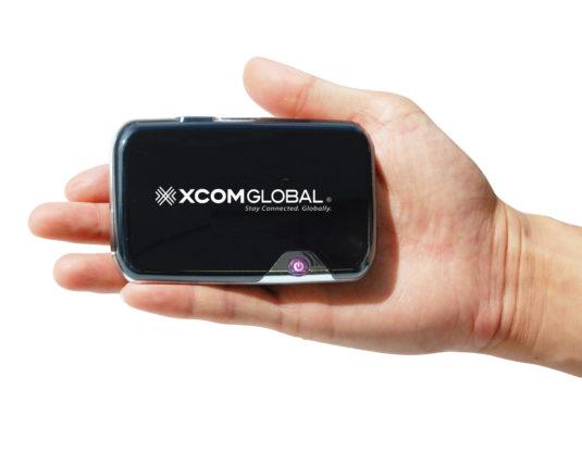 Data & Internet Hotspot - XCom Global International MiFi Rental Device