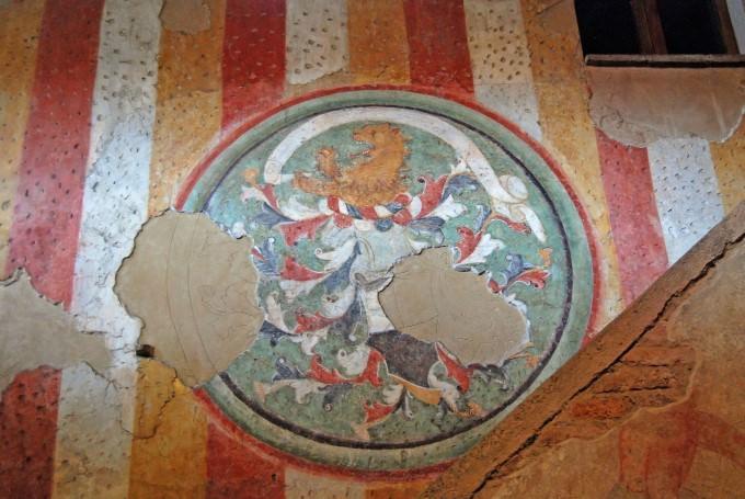 Fratelli Berlucchi Frescoes in Cellar