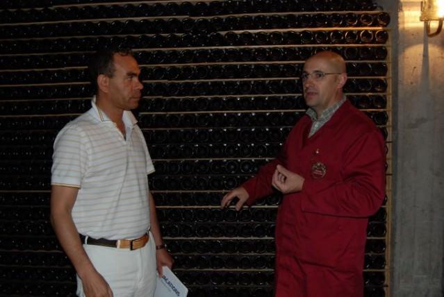 Tour of Fratelli Berlucchi Cellar