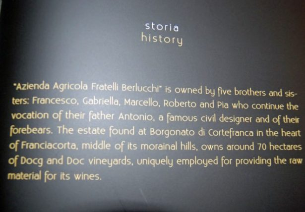 Fratelli Berlucchi History