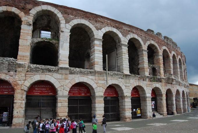 Roman Amphitheater in Verona