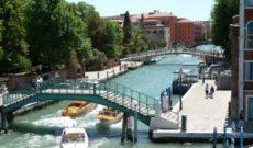 Uniworld River Countess Embarkation in Venice, Italy