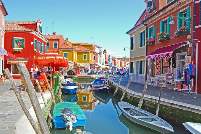 Optional Excursion: Visiting the Island of Burano