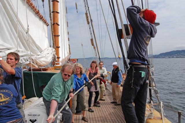 Time to Raise Schooner Zodiac's Sails