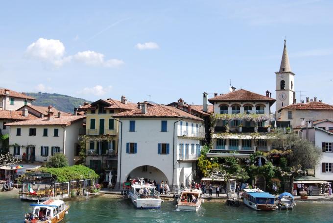 Isola dei Pescatori is an island of Lago Maggiore