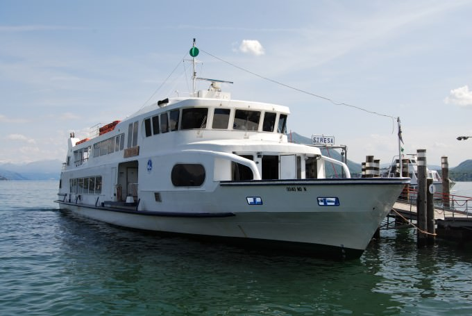 Ferry to Stresa on Lake Maggiore