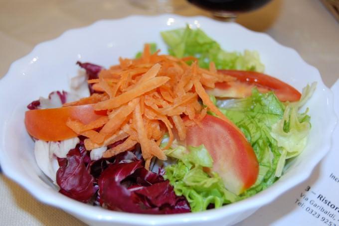 Mixed Salad at Ristorante La Trappola