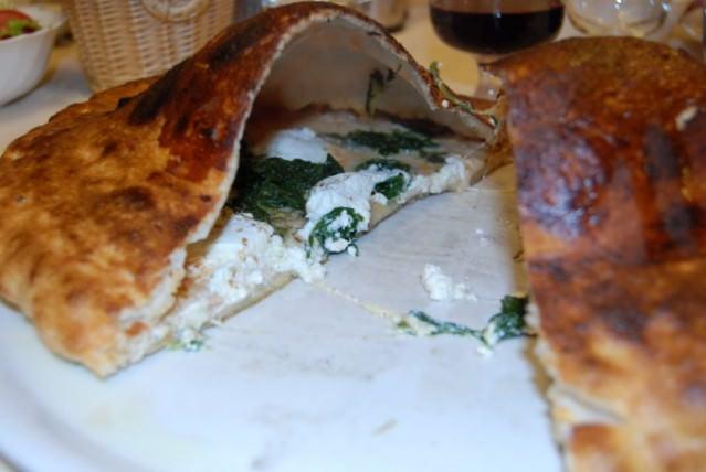 Volcano Pizza at Ristorante La Trappola