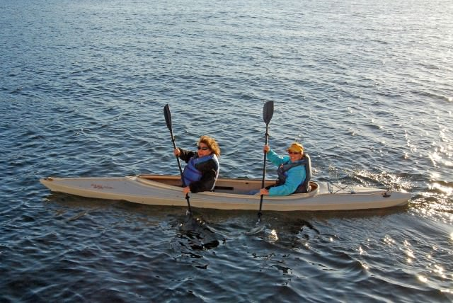 Kayaking from Schooner Zodiac While in the San Juan Islands