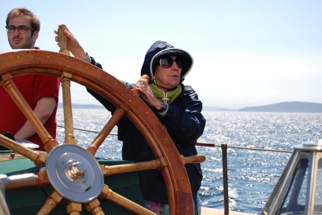 A Woman Learns To Sail A Schooner