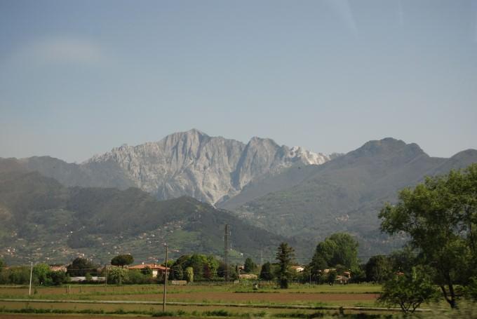 Driving Towards Genova, Italy