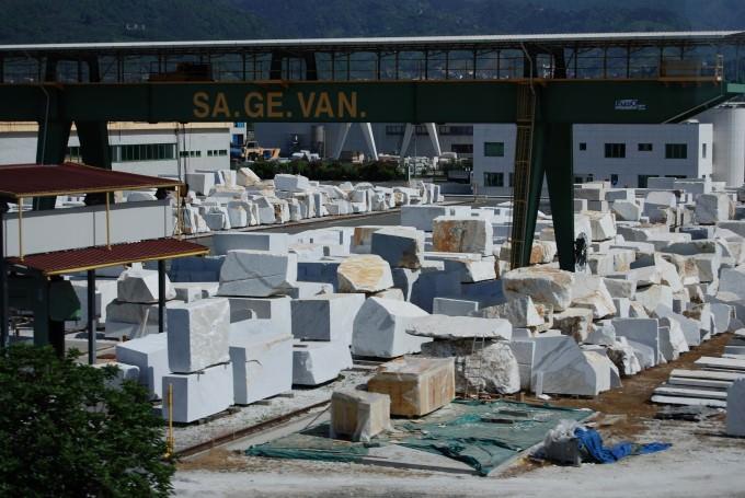 Blocks of Marble and Granite at Carrara