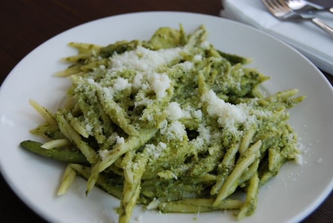 Ligurian Trofie Pasta with Genoa Pesto