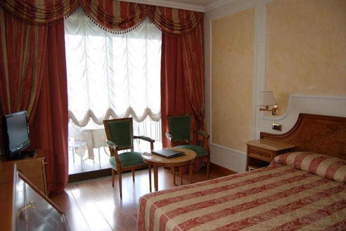 Guest Room at Grand Hotel Dino on Lake Maggiore