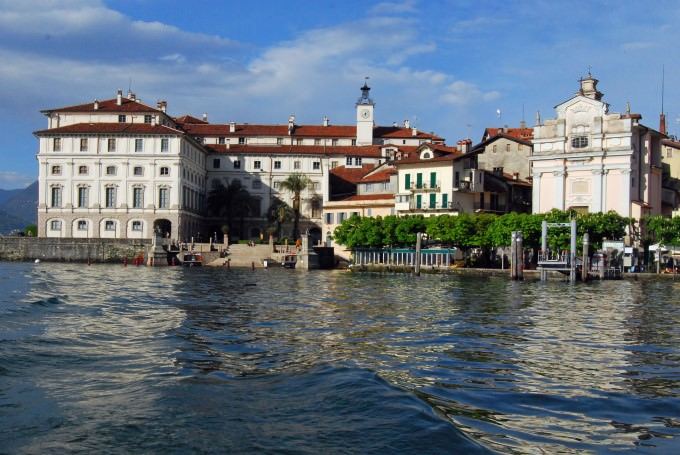 Isola Bella on Lake Maggiore in Italy