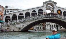 Arriving in Venice and Hotel Carlton on the Grand Canal