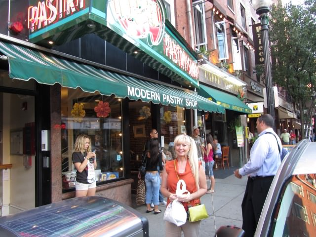 Patti Morrow visits Modern Italian Pastry Shop in Boston.