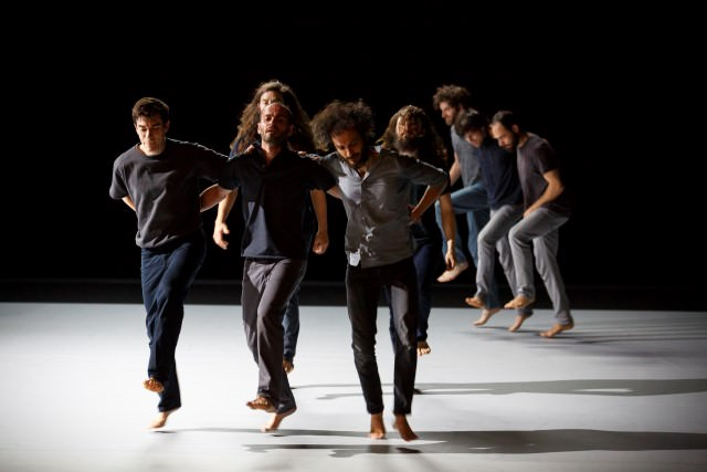 """Based on a True Story"" dancers. Photo Christophe Raynaud de Lage"
