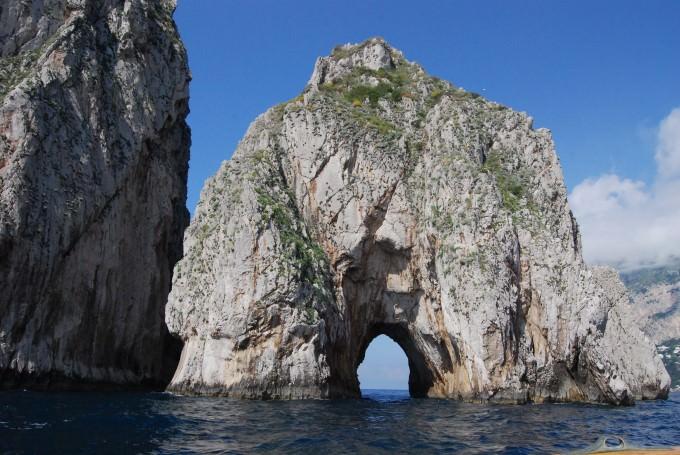 Cruising around the Isle of Capri