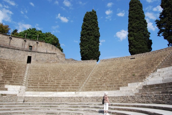 Roman Amphitheater at Pompeii