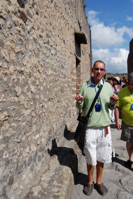 Local Tour Guide Willy at Pompeii
