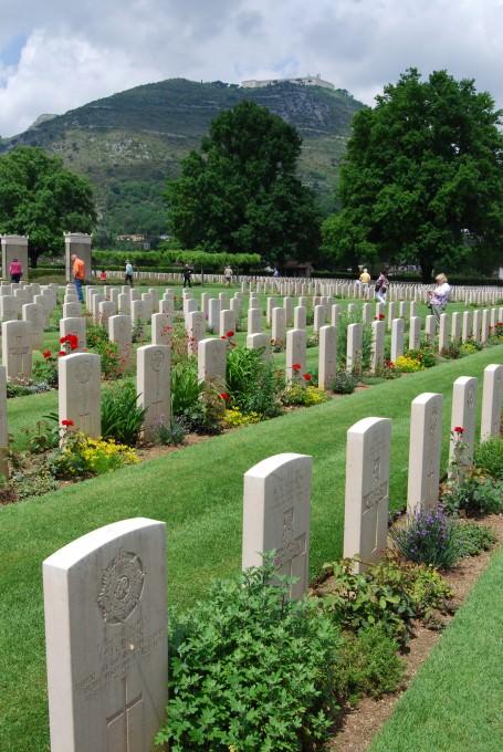 Cassino War Cemetery and Abbey of Monte Cassino