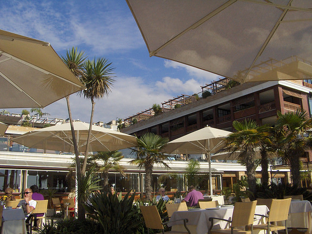 Terrace Dining at Gran Hotel Guadalpin Banus