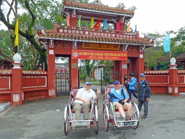 Jill and Viv in Hue, Vietnam - Travel Tips, Tales, Deals and Steals November Newsletter