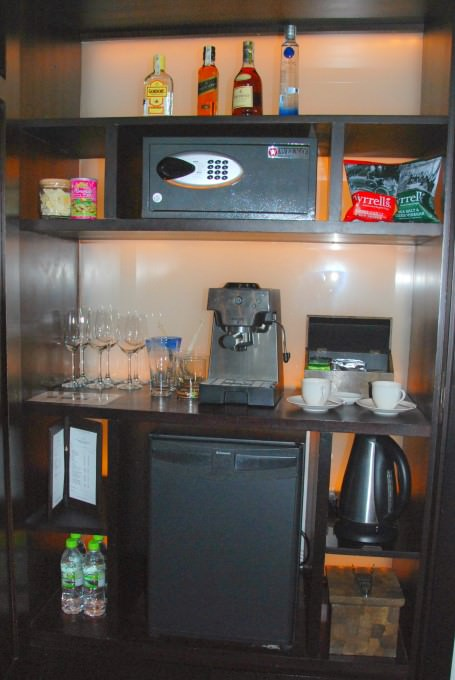 Mini-Bar and Amenities in Villa 4110 at The Nam Hai