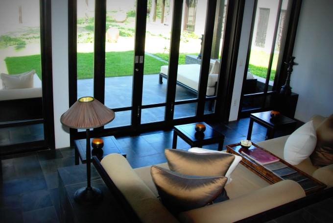 The Nam Hai Villa - Sitting Lounge