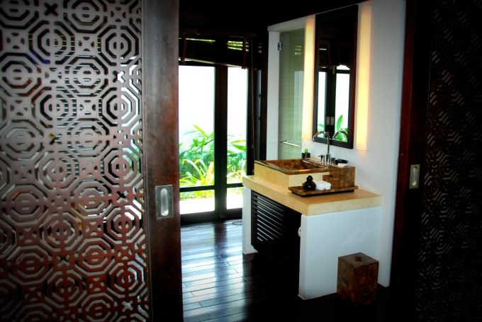 The Nam Hai Villa Bathroom
