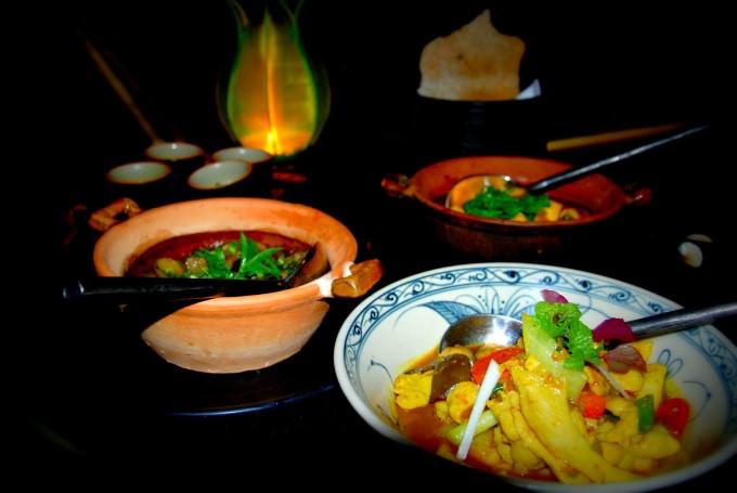 Dining at The Beach Restaurant at The Nam Hai