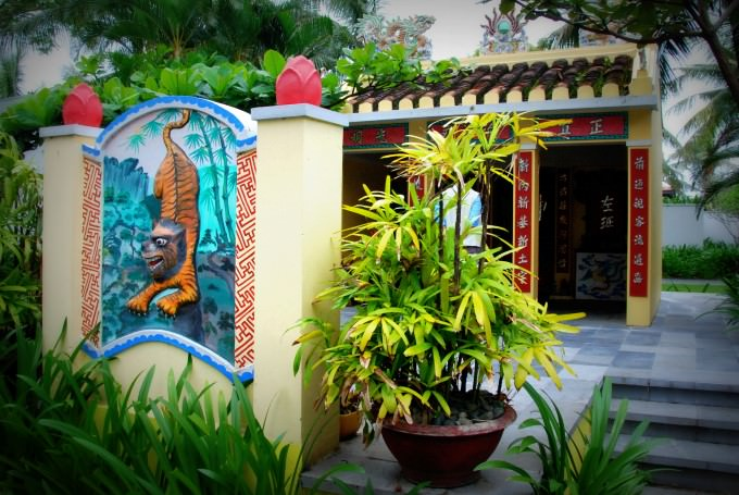 Pagoda at The Nam Hai