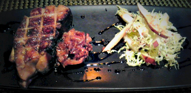 Bimini Steakhouse - Seared Foie Gras Appetizer