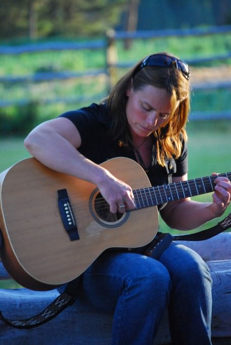 A Canadian Woman and Her Guitar