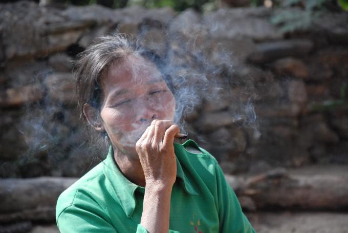 Woman in Laos