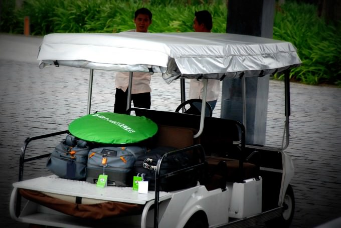 Golf Buggy at The Nam Hai