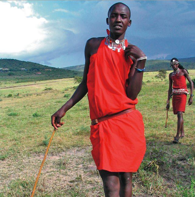 Maasai Tribe, Tanzania & Kenya. Photo courtesy of Acacia Africa.