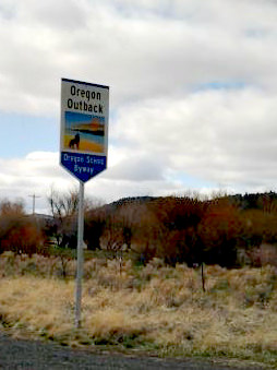 Oregon Outback Sign
