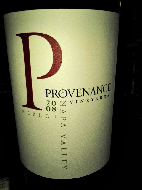 Provenance Vineyards 2008 Merlot - Napa Valley