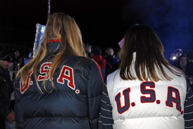 USA Women Olympic Snowboarders