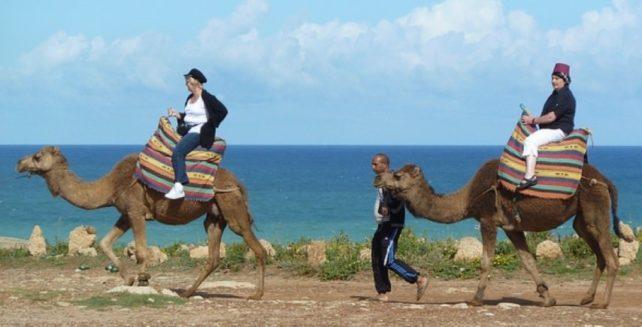 Women Having Fun in Morocco